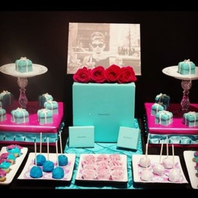 Tiffany and Co. Inspired layout (:
