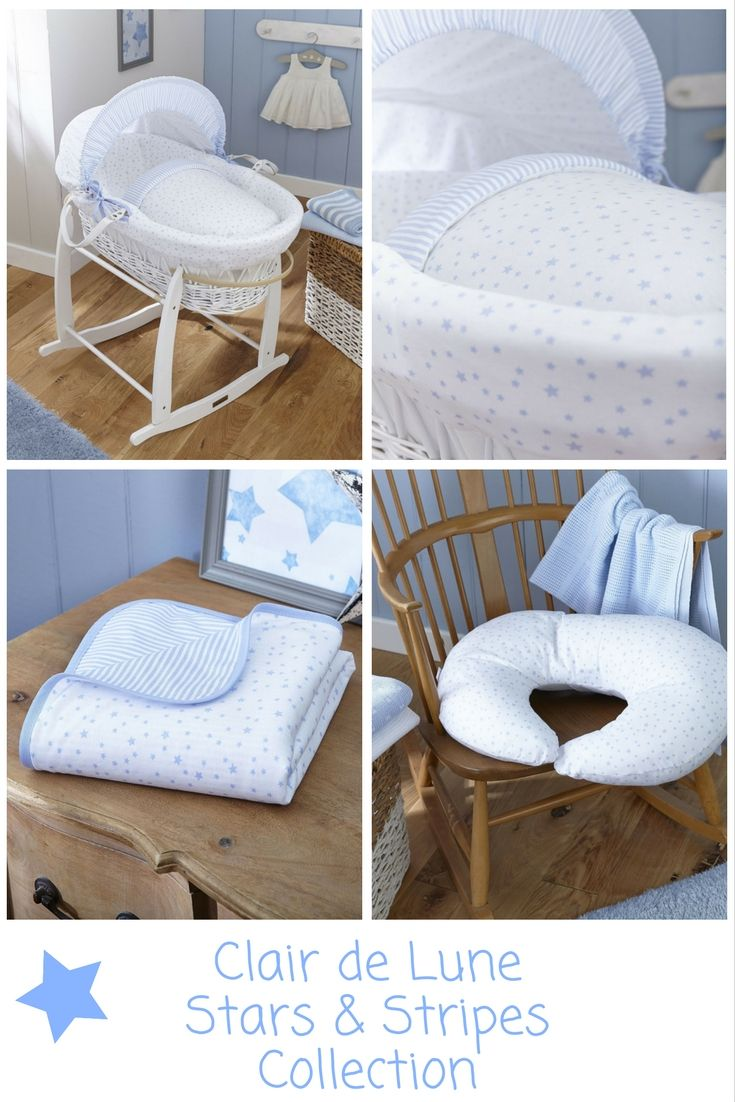 Stars Moses basket Fitted sheet 70 x 30cm