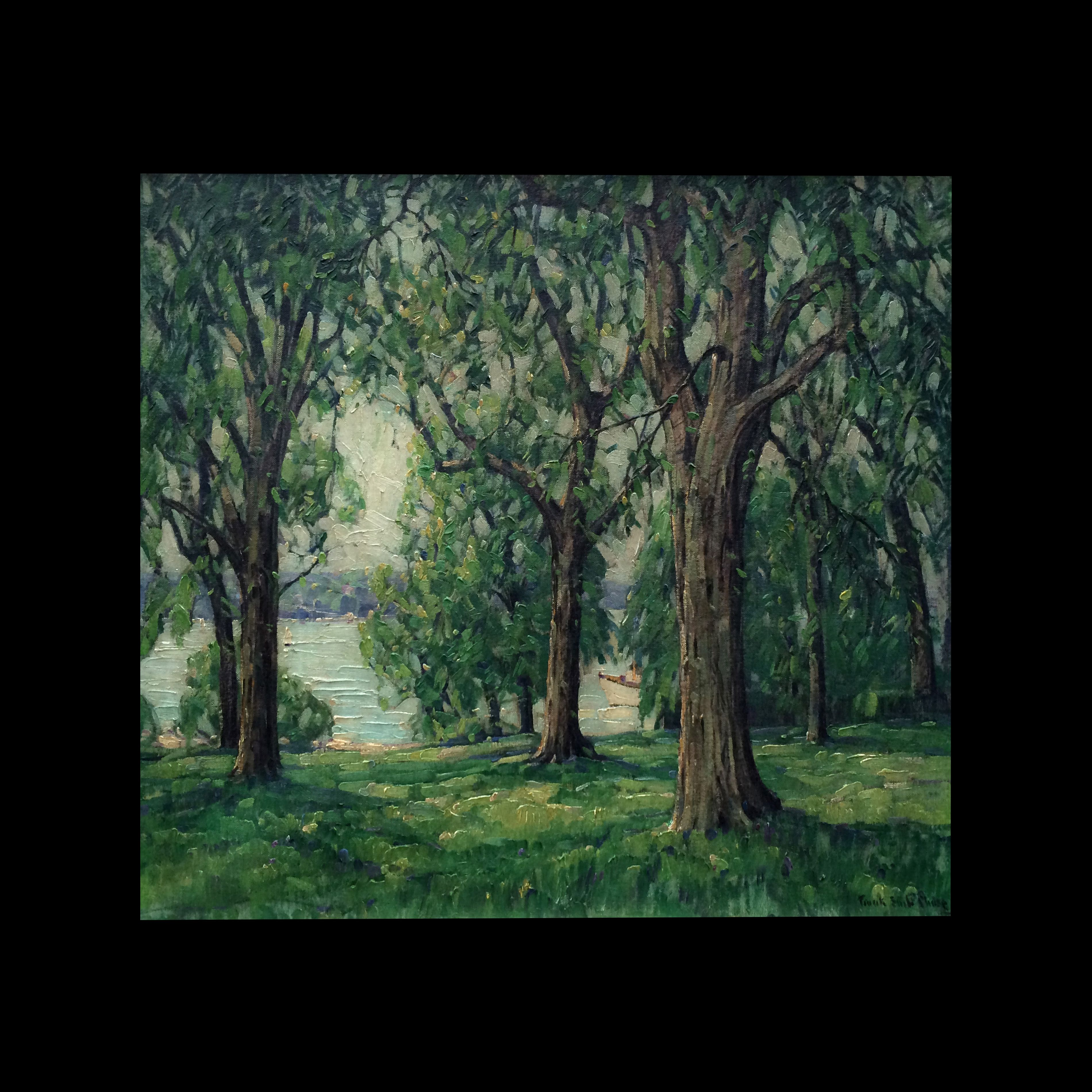 1958) Oil Painting Forest