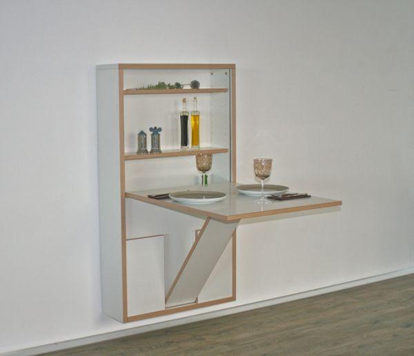 Weißer TIsch Ständer Küche Pinterest - klapptisch für küche