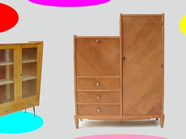 armoire vintage années 50 | meubles design vintage scandinave art ...