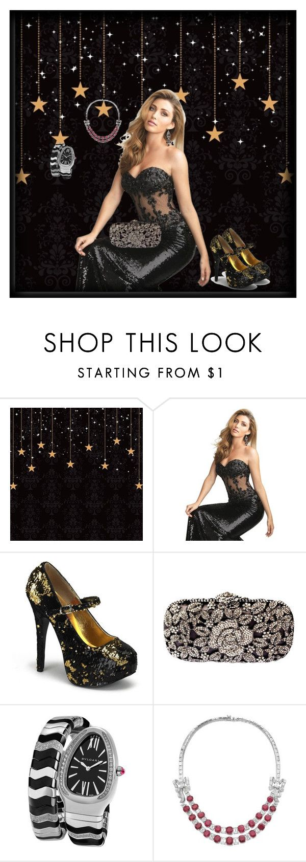 """Prom Night❤"" by donnyprabowo ❤ liked on Polyvore featuring Night Moves and Bulgari"
