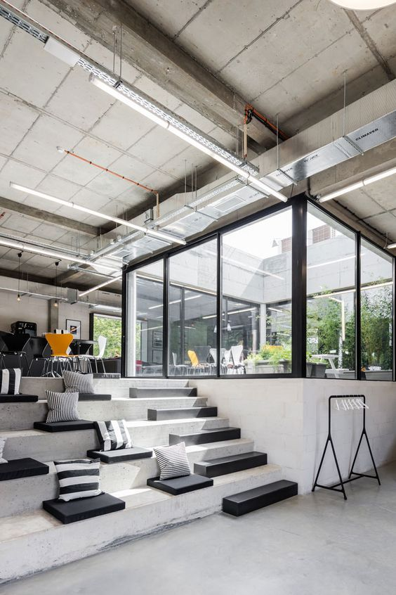 Inloki plays with indoor outdoor space for an outsystems - Interior design courses in dubai ...