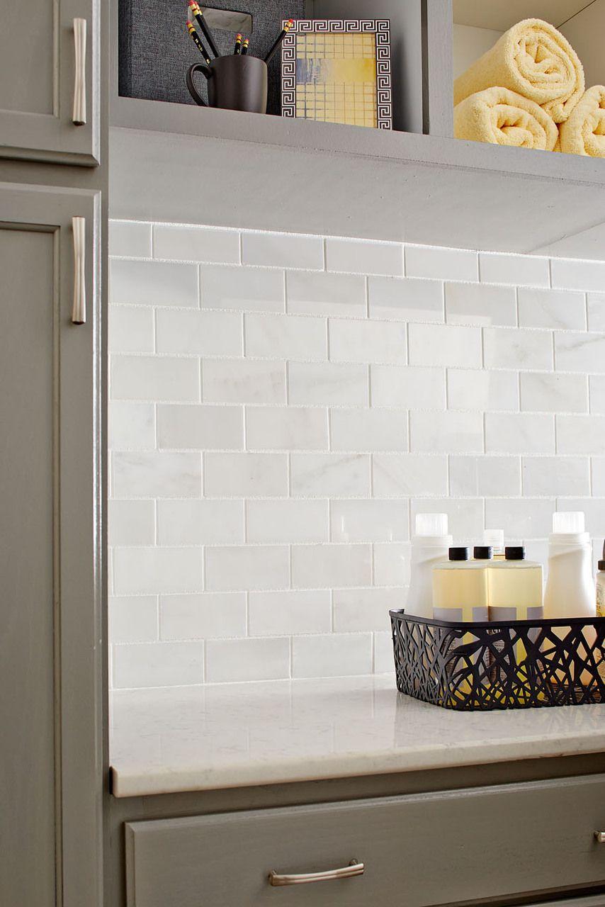 Carrara 3 X 6 Polished Subway Marble Tile On Sale 6 98 Per