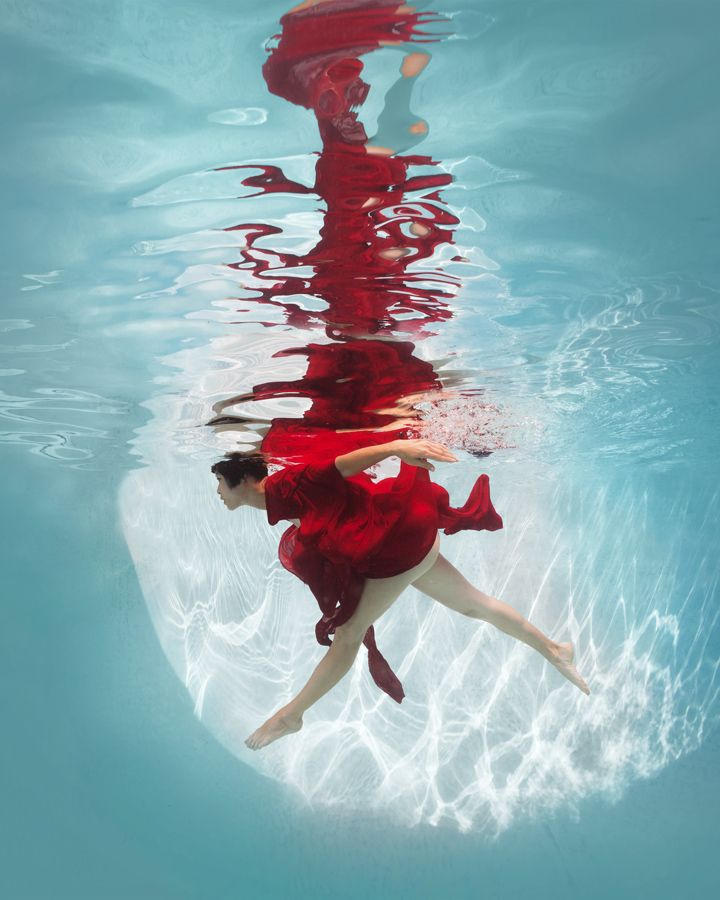 Underwater, les nus picturaux dEd Freeman   Graine de