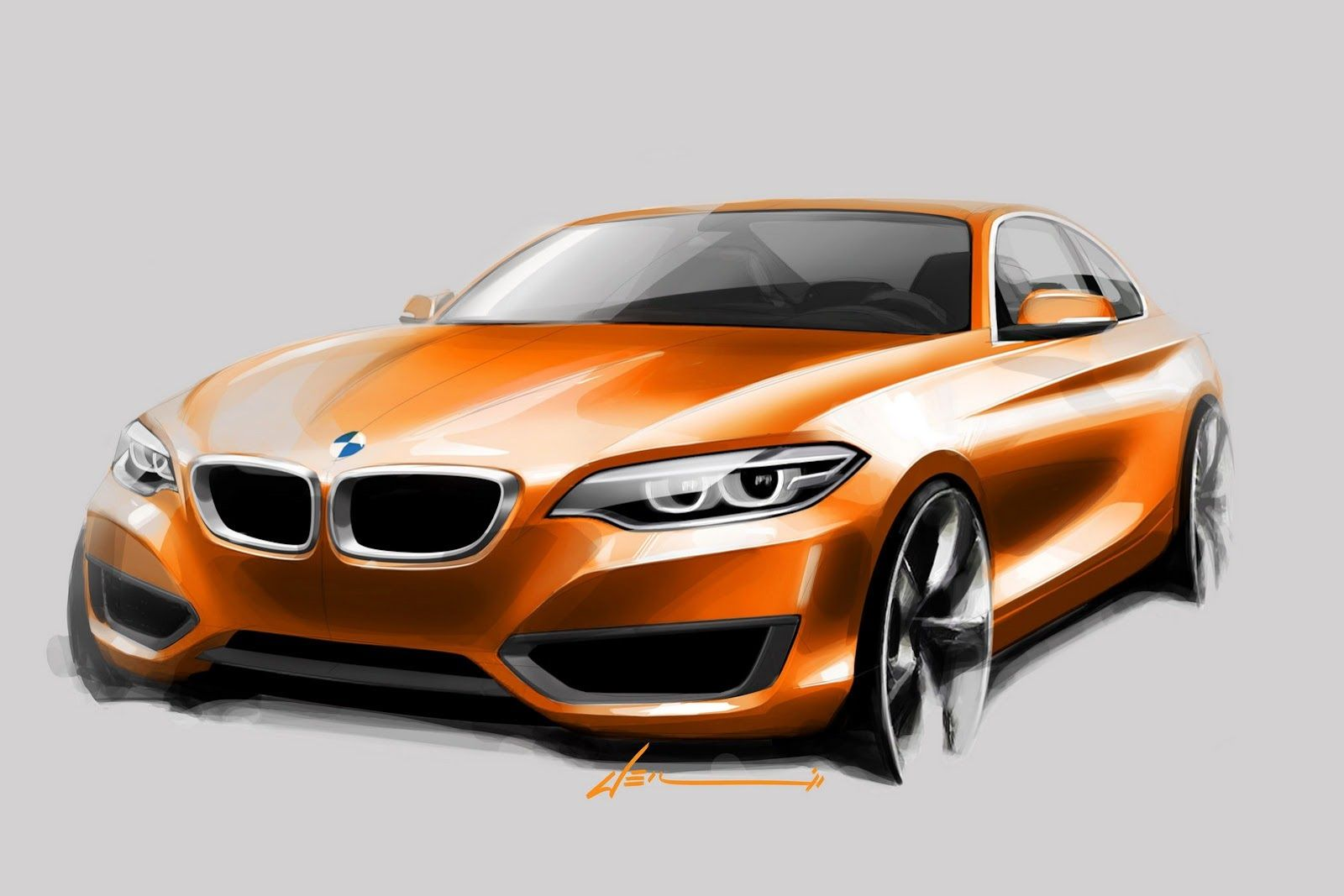 New Bmw 2 Series Coupe Official Revealed And Priced From 33 025 53 Photos Videos Carscoops Bmw Bmw Design Car Drawings