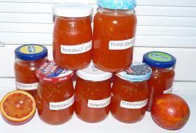 Jak zpracovat přebytečné nebo levné pomeranče – pomerančová marmeláda a sirup   recepty