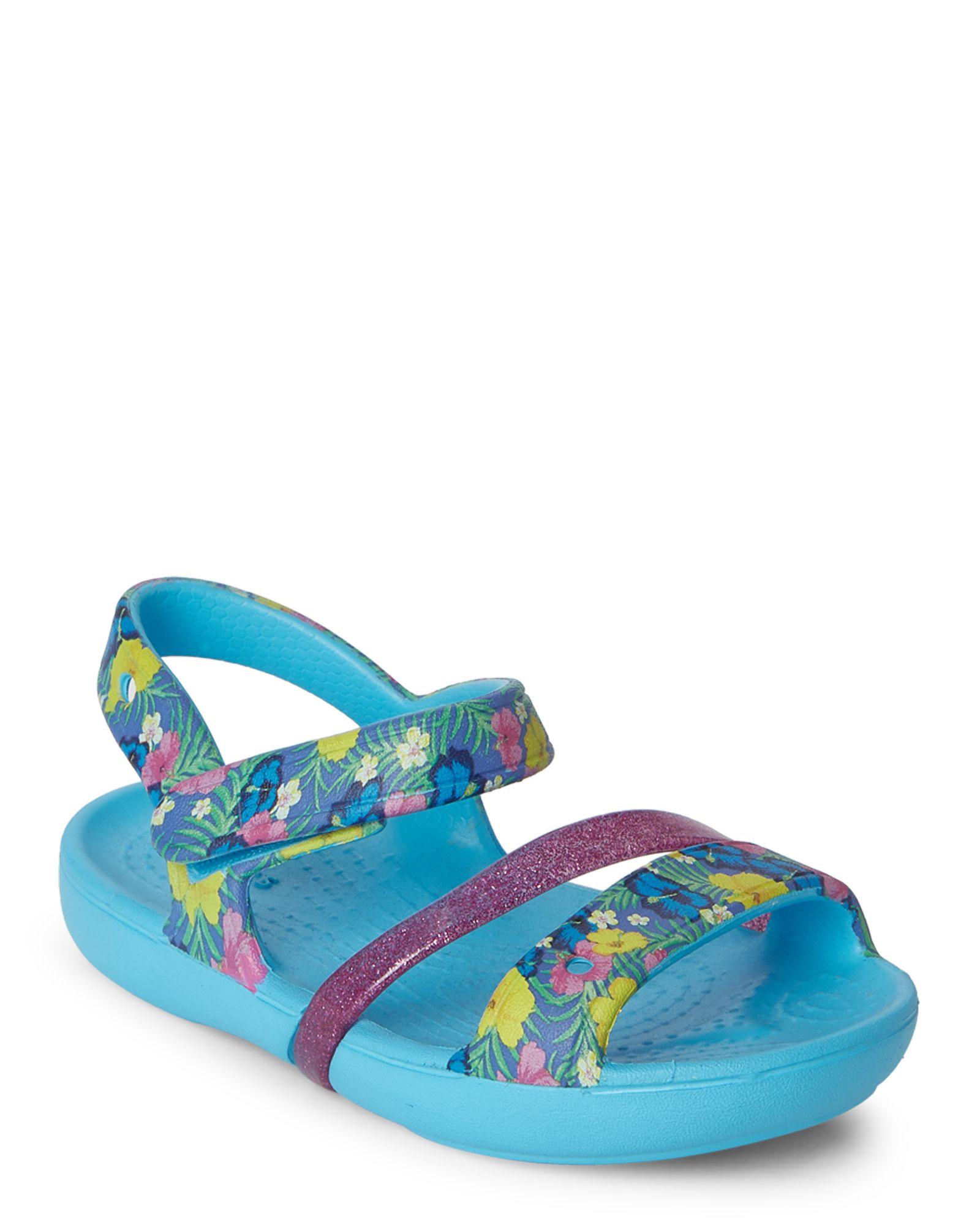 7f3dd08e3 Crocs (Toddler Kids Girls) Electric Blue Lina Sandals