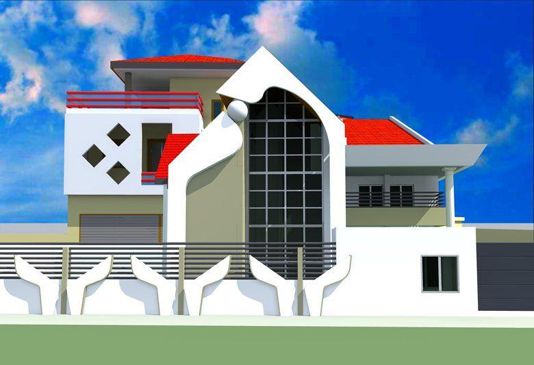 Projet De Villa Modern A Conakry En Guinnee Design Moderne