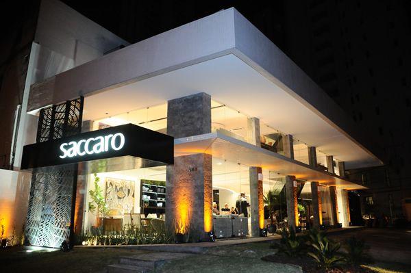 Fachadas comerciais modernas 20 modelos a n fachada for Casa moderna restaurante salta