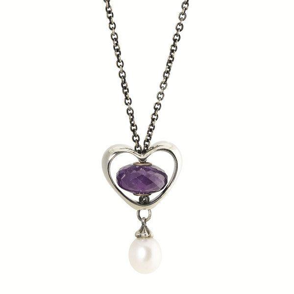 Trollbeads Silver In Your Heart Bead