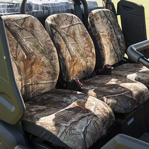 CAMO SEAT COVERS Yamaha Rhino UTV Quad Gear Vehicle Accessory Protects Seats