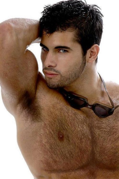 Smooth hairy chest