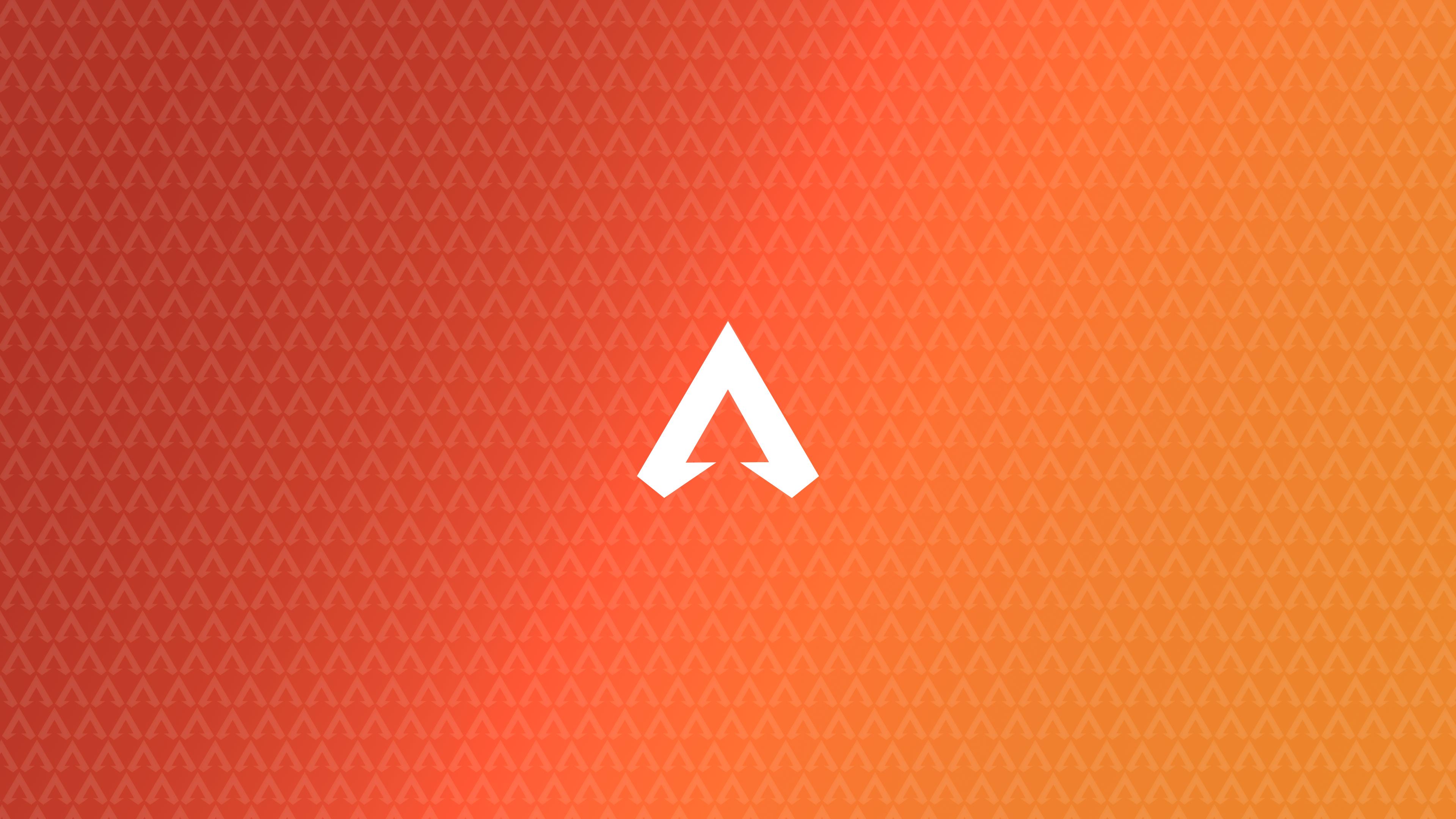 Orange Gaming Wallpaper 4k