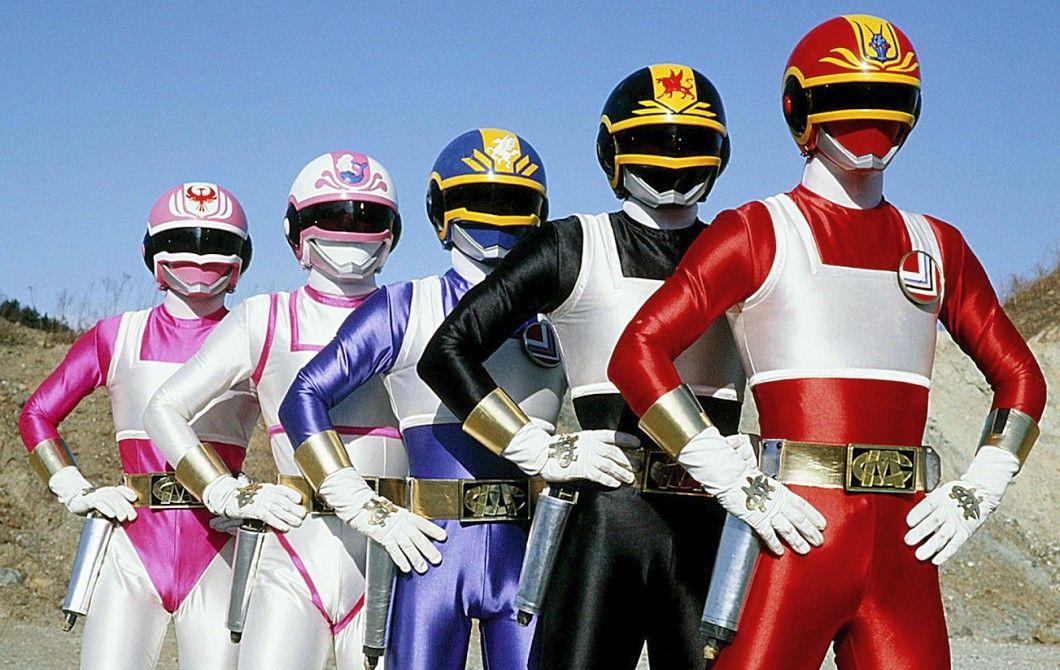 Dengeki Sentai Changeman Super Sentai Power Rangers Changeman