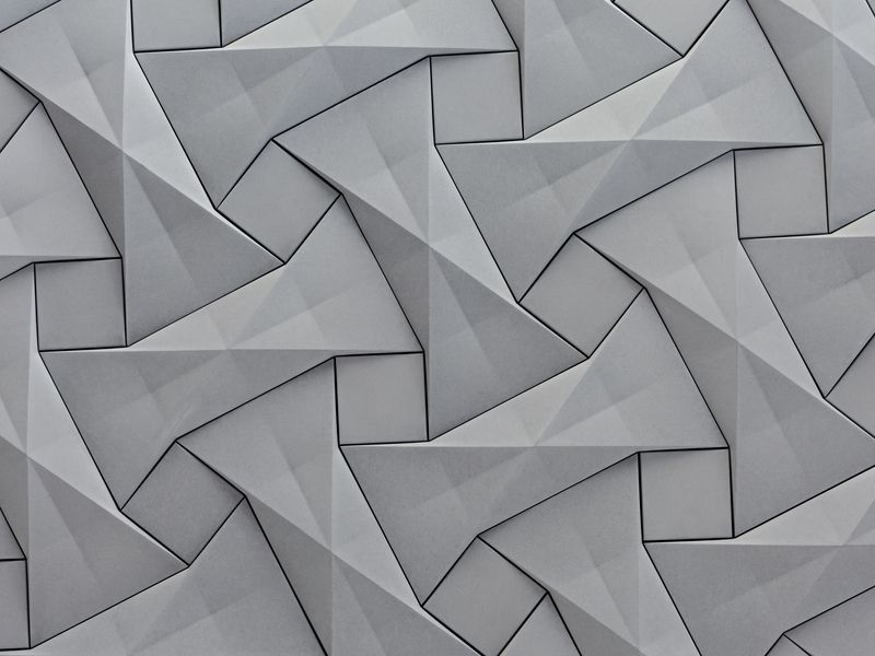 kaza concrete's contemporary concrete tile design,'quadilic'