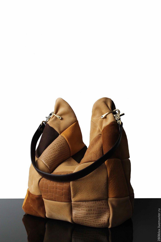 389869768760 Замшевая сумка, бежево-коричневый, сумка-хобо, сумка-мешок Замшевая сумка