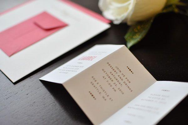 Pink and gold letterpress bridal shower invitations announcements pink and gold letterpress bridal shower invitations filmwisefo Gallery