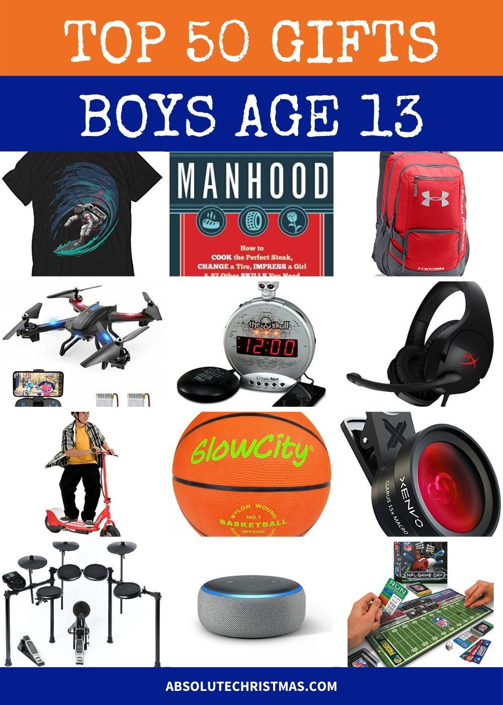 2020 Christmas Gift Ideas For 13 Year Old Boy Best Gifts For 13 Year Old Boys 2020 | Christmas gifts for boys
