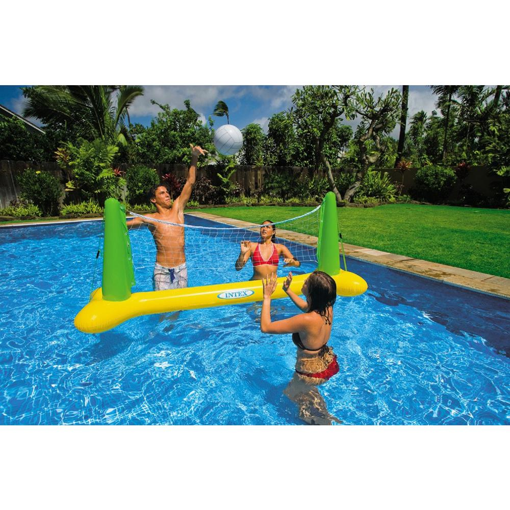 Intex Inflatable Pool Volleyball Game Multi Pool Accessories Swimming Pool Toys Pool Party Games