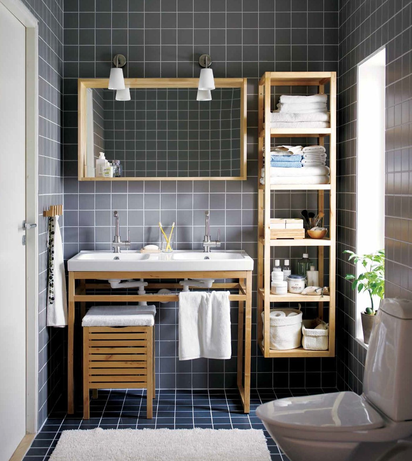 our molger bathroom series as featured in the latest issue of