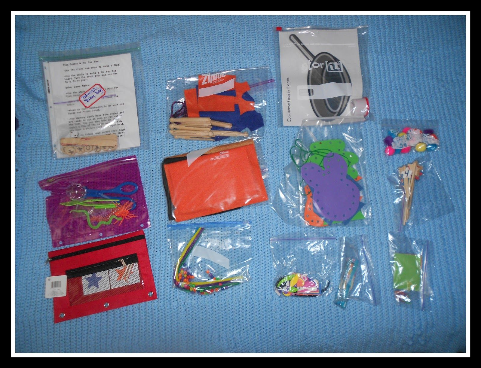 One Busy Mama and Teacher: Busy Bags