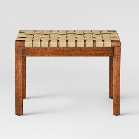 Luggage Rack Target Custom Catalonia Woven Ottoman Natural  Project 62  Ottomans And Products Decorating Inspiration
