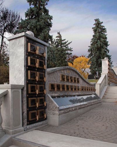 Investing In Street Appeal With Style: A Columbarium Garden Can Add Value To Cemeteries If The