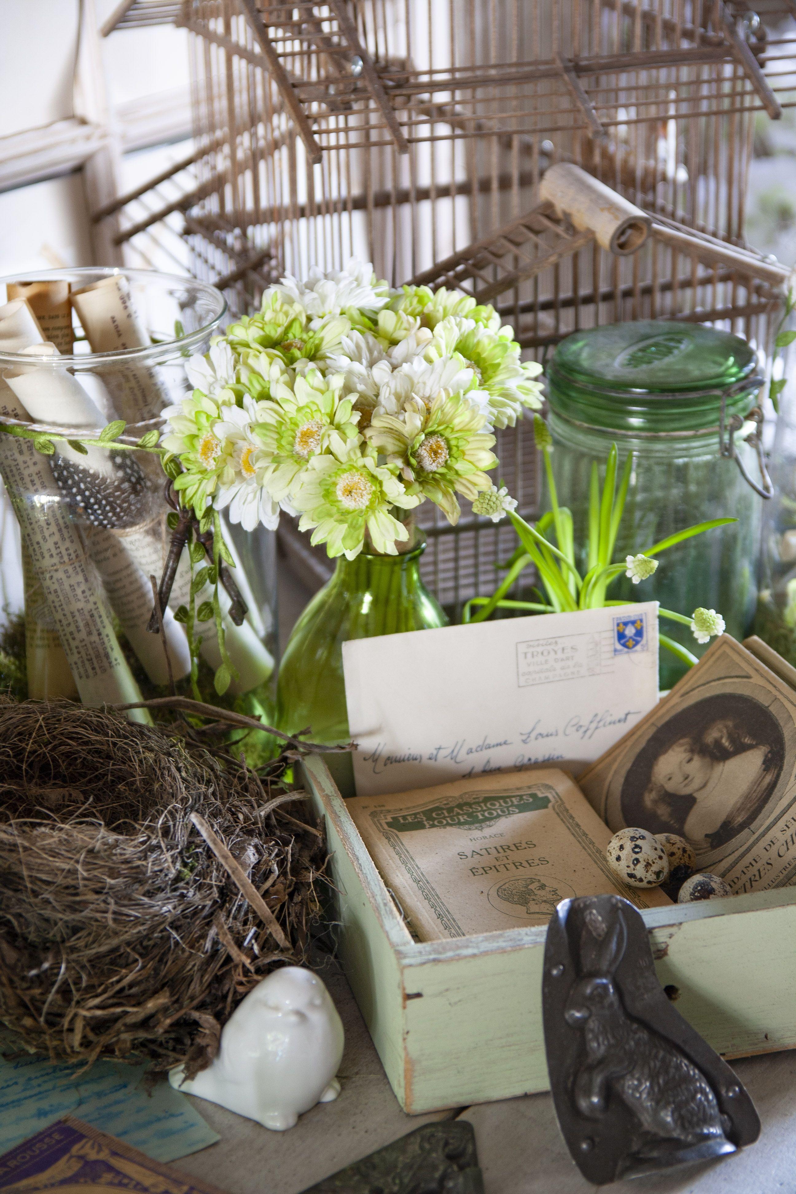 Evelyne Warchol Le Bonheur A La Campagne Guest House Chambres D Hotes Champagne Ardenne Printemps Spring Decor Easter Dec Deco Paques Decoration Deco