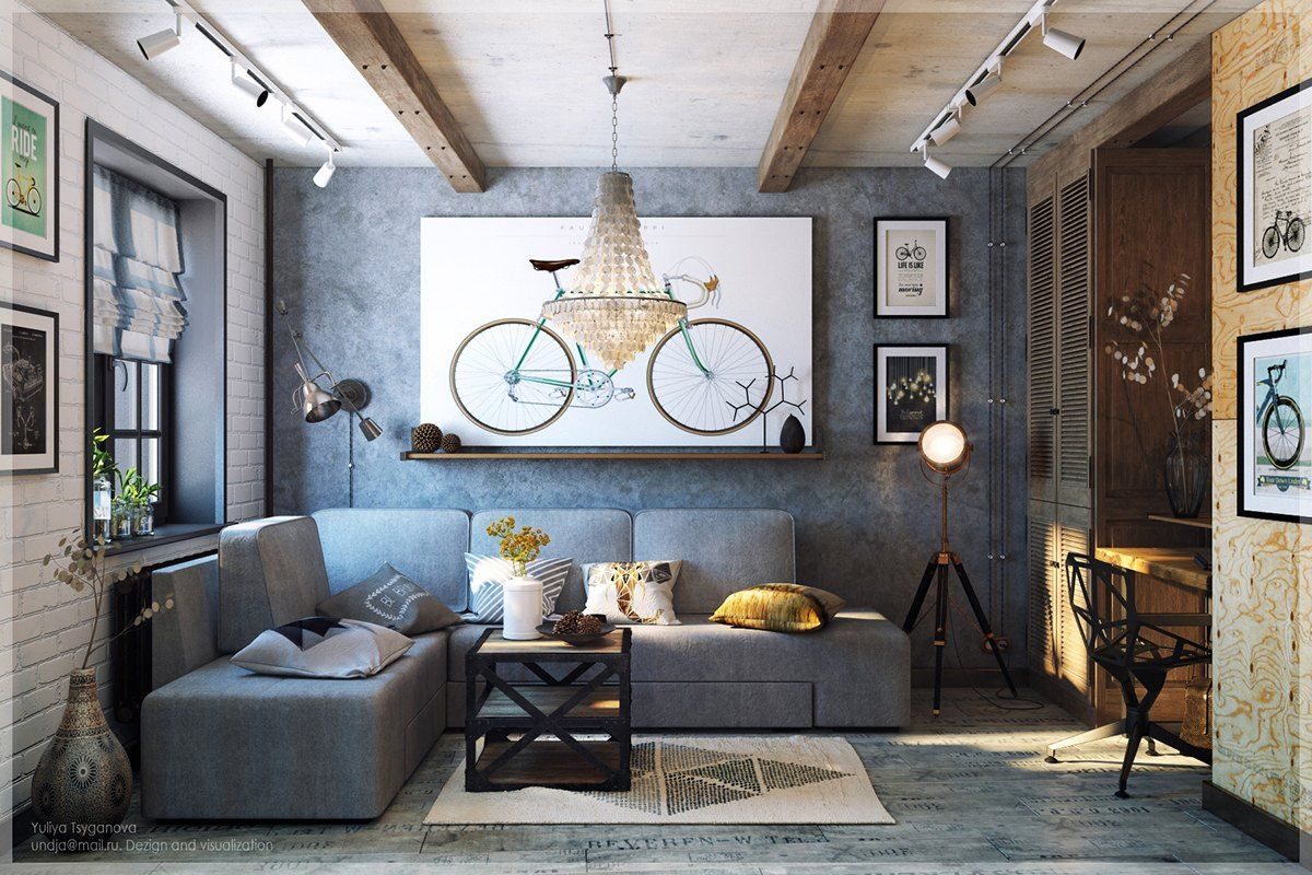 Modern home interior colors  chic modern u eclectic spaces  l  pinterest  white wash brick