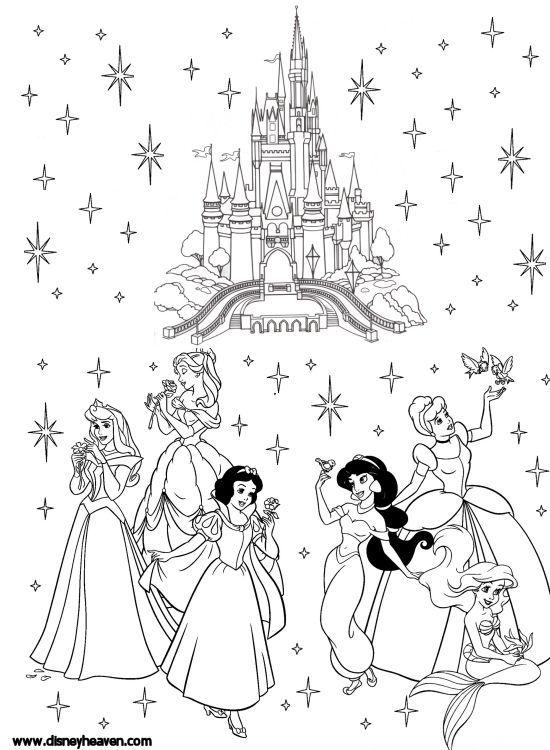 Disney Villains Coloring Pages | Disney Heaven - Sharing the magic ...
