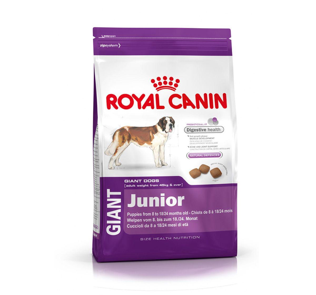 Royal Canin Giant Junior 3 5 Kg Royal Canin Dog Food Dog Food Online Royal Canin