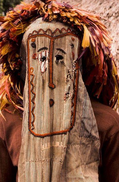 Africa   Gouro Masquerader.  Ivory Coast   ©George Courreges.