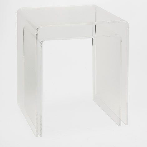 Methacrylate Table Pack Of 2 Occasional Furniture