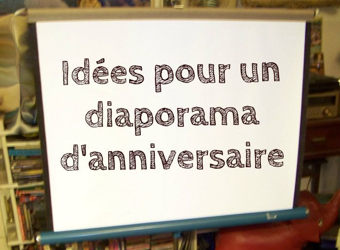 id e diaporama anniversaire anniversaire pinterest diaporama anniversaires et id e. Black Bedroom Furniture Sets. Home Design Ideas