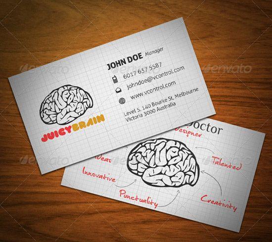 Juicy Brain Business Card