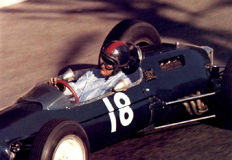 Mike Hailwood, Monaco 1964, Lotus 25