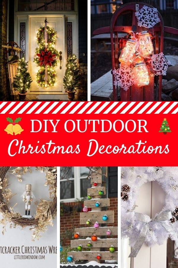 diy outdoor christmas decorations christmas decorating ideas pinterest diy outdoor christmas decorations outdoor christmas and decoration - Outdoor Christmas Decorations Ideas Pinterest
