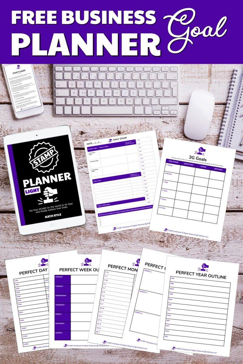 FREE STAMP Planner Light - Kath Kyle