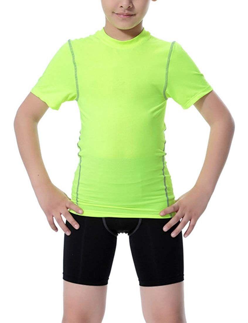 Boys football practice short sleeve shirt shorts 2pcs