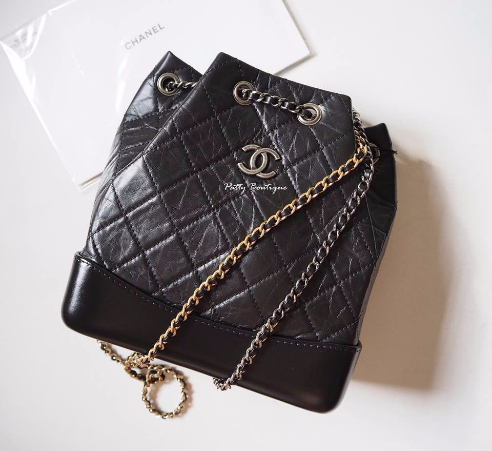 1b1ecdd9334c New Chanel gabrielle backpack with black