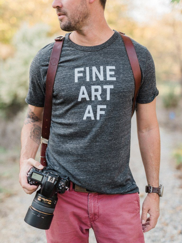 Fine Art AF - Tshirts for photographers, tees for photographers, photography tshirts