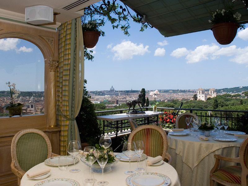 Mirabelle, Roma Hotel Splendide Royal, 14 Via di Porta