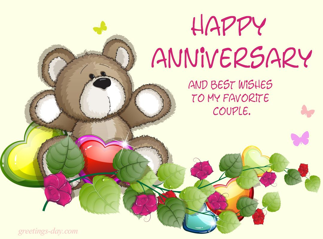 Best wishes for your wedding anniversary