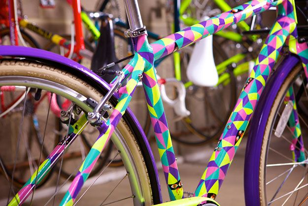 So cheerful! #bicycle