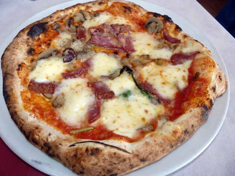 Eat a pizza in Naples Italy.The best you will EVER have in your life!