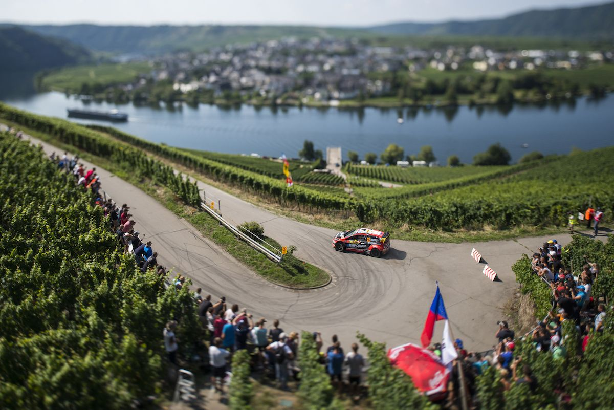 Jaroslav Melicharek performs during the FIA World Rally Championship 2015 in Trier, Germany on August 21, 2015 (Foto: Red Bull Content Pool)