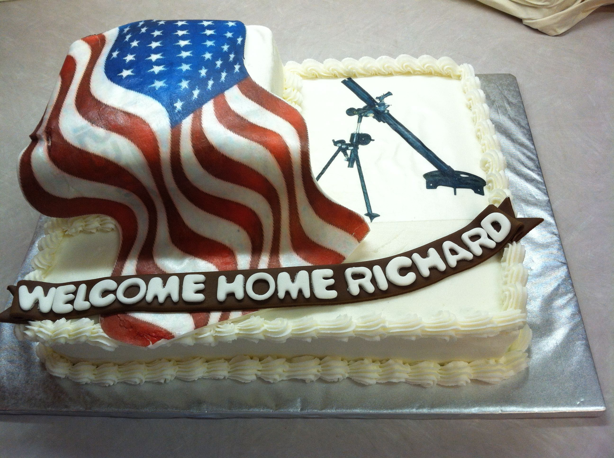 military welcome home cake shellscakes com army mom pinterest