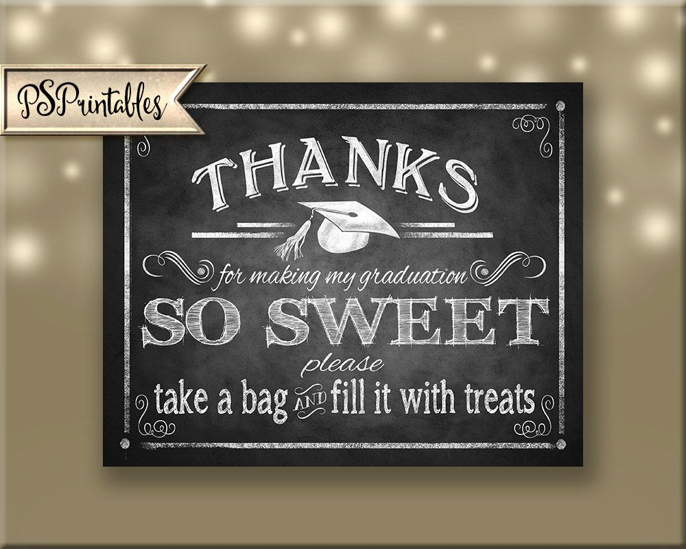 Printable graduation thank you sign grad party sign diy graduation printable graduation thank you sign grad party sign diy graduation sign graduation printable chalkboard grad sign printable grad sign solutioingenieria Gallery