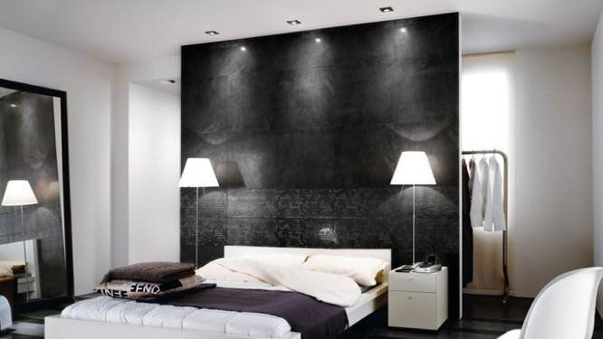 cloison tete de lit id es suite parentale pinterest cloisons tete de et en t te. Black Bedroom Furniture Sets. Home Design Ideas